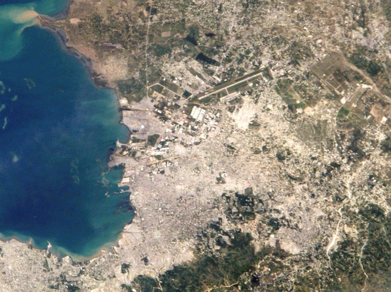 File:Port au prince from space.jpg